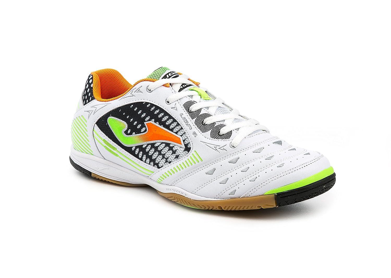 Joma Liga 602 Indoor Weiss Fußballschuhe Hallenschuhe Soccer Futsal