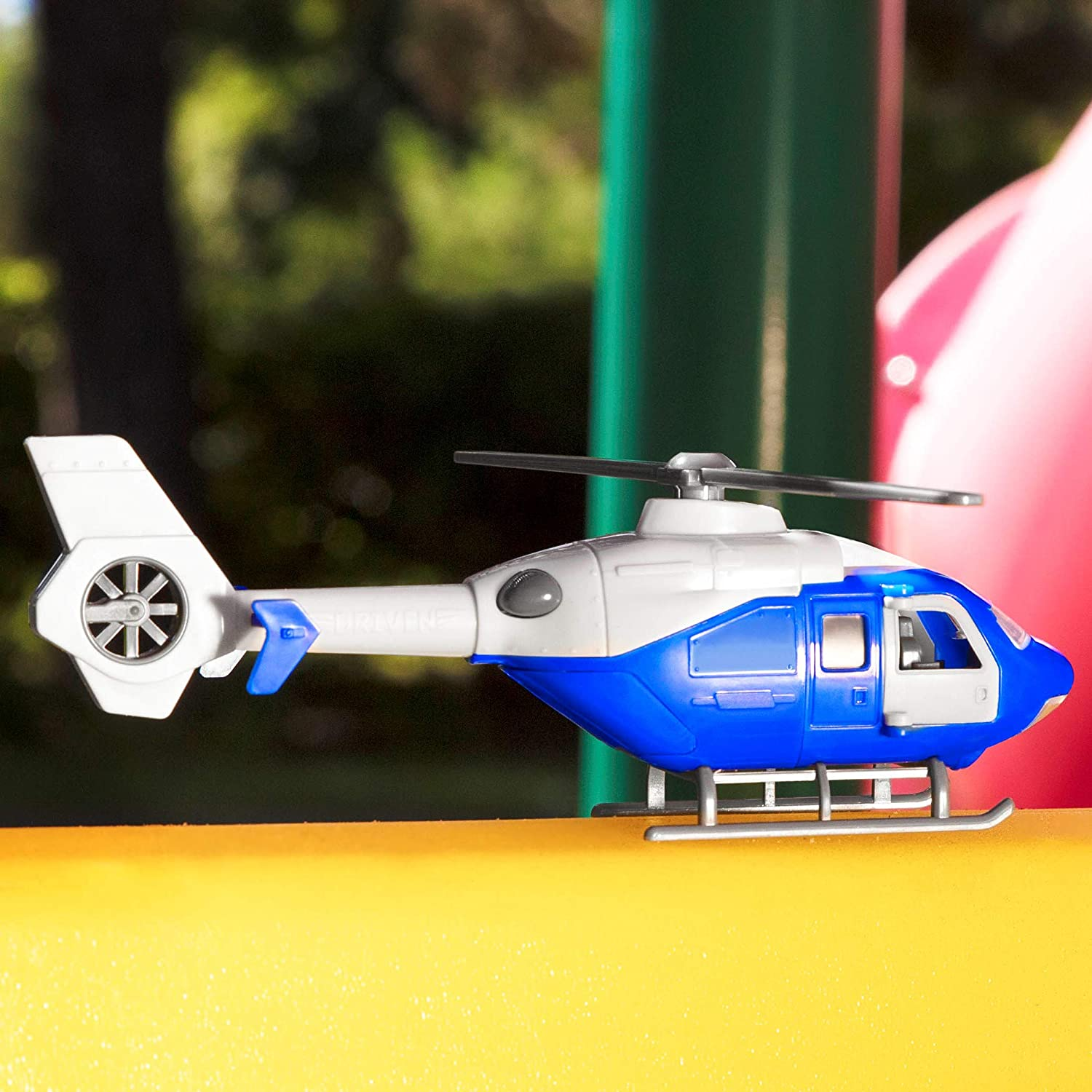Helicopter DRIVEN by Battat Toy Helicopter with Lights and Sound ...