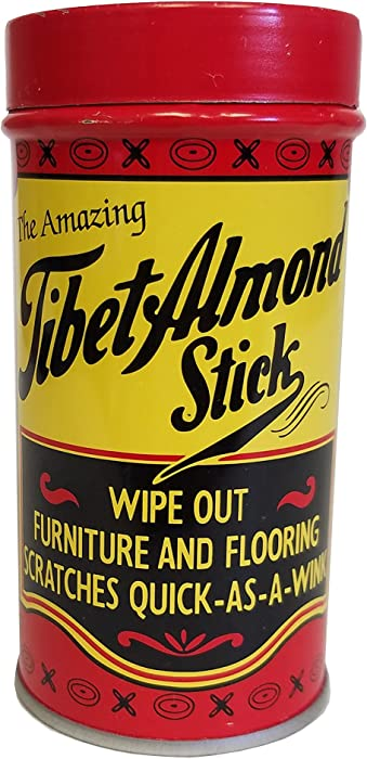 Tibet Almond Stick Scratch Amazing Wooden Surface Stain Remover and Give Perfect New Look to Wood Products, One Size, Colorless