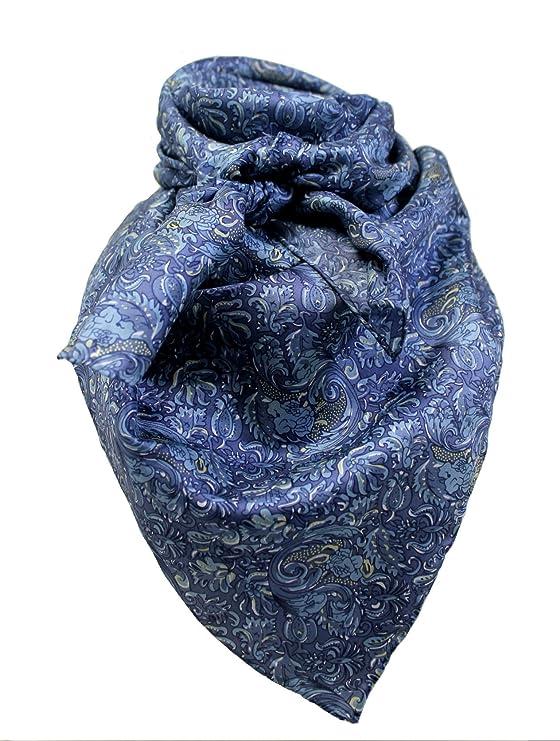 Wild Rag Paisley Blue