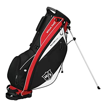 Wilson Ionix Light Carry Bag - Bolsa de Golf, Color Rojo ...