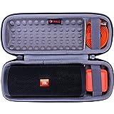XANAD Hard Travel Carrying Storage Protective Case for JBL Flip 4 or JBL Flip 3 Speaker (Grey)