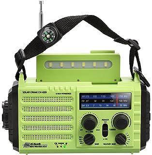 Amazon.com: RunningSnail NOAA equipo de radio con ...