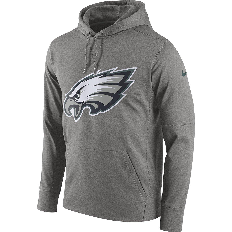 eb249397 Nike Men's Philadelphia Eagles Logo Essential Hoodie