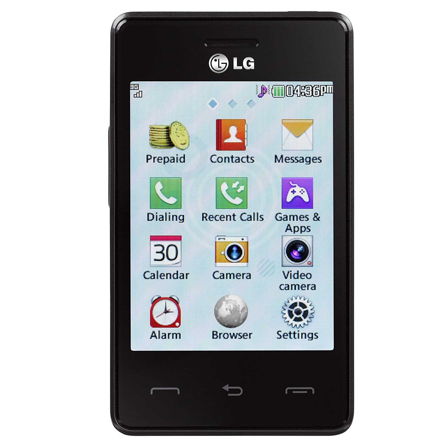 Amazon.com: LG 840G Prepaid Phone With Triple Minutes (Tracfone): Cell  Phones & Accessories