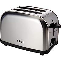 T-fal Tostador Ultra Compacto Inox, con 6 Niveles de tostado para tener el pan perfecto, Acero inoxidable con terminado cepillado