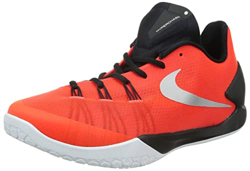 outlet store 11f54 24597 Nike Men s Hyperchase EP BRIGHT CRIMSON METALLIC SILVER-BLACK-WHITE BRIGHT  CRIMSON