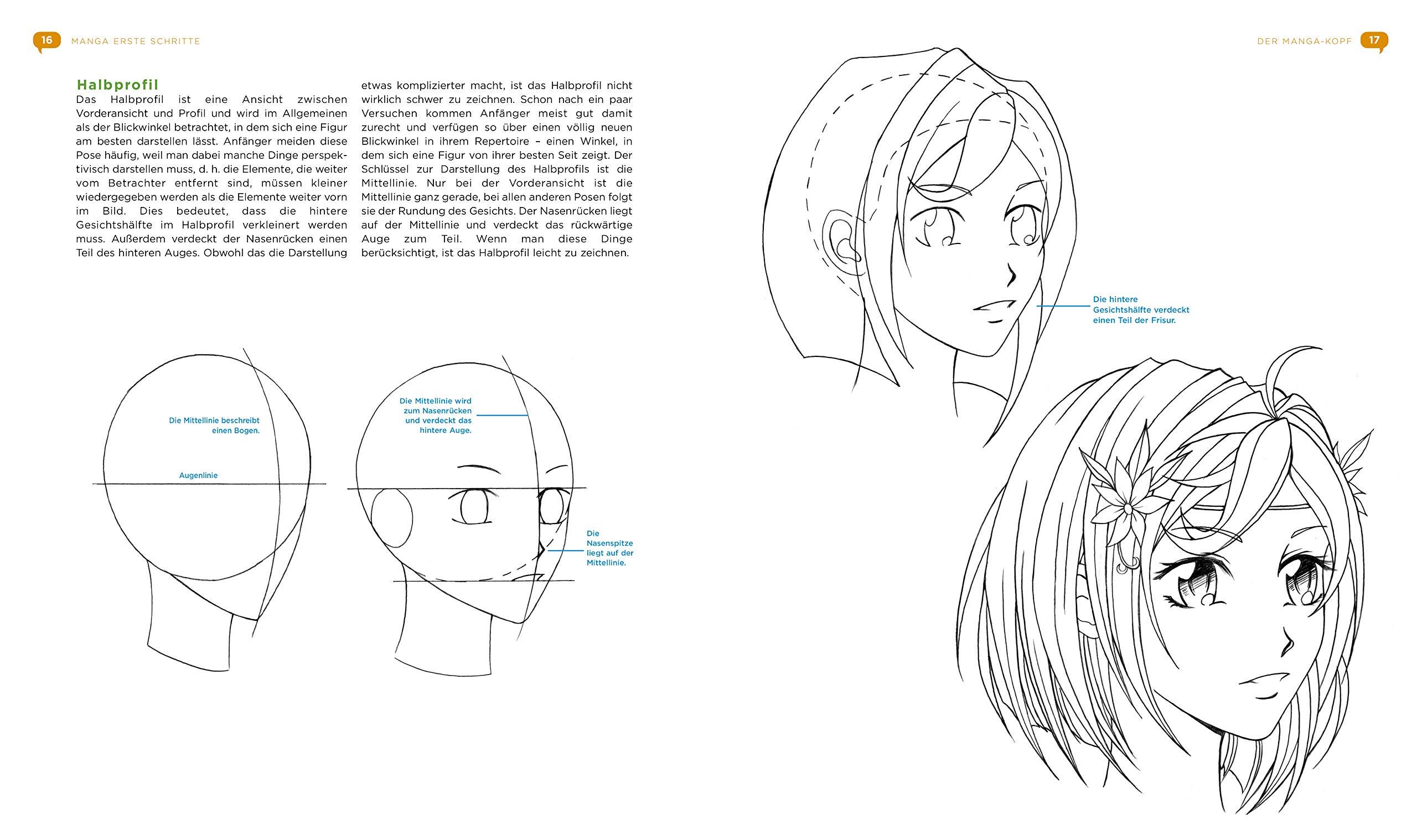 anime zeichnen lernen für anfänger schritt für schritt