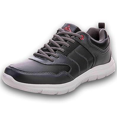 b7d40a60a4772 AX BOXING Herren Damen Laufschuhe Outdoorschuhe Turnschuhe Sportschuhe  Sneaker (43 EU