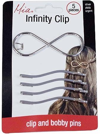Beautiful Trendy Silverplated Metal Hair Jewelry Stick Bun Clip Pin Accessory