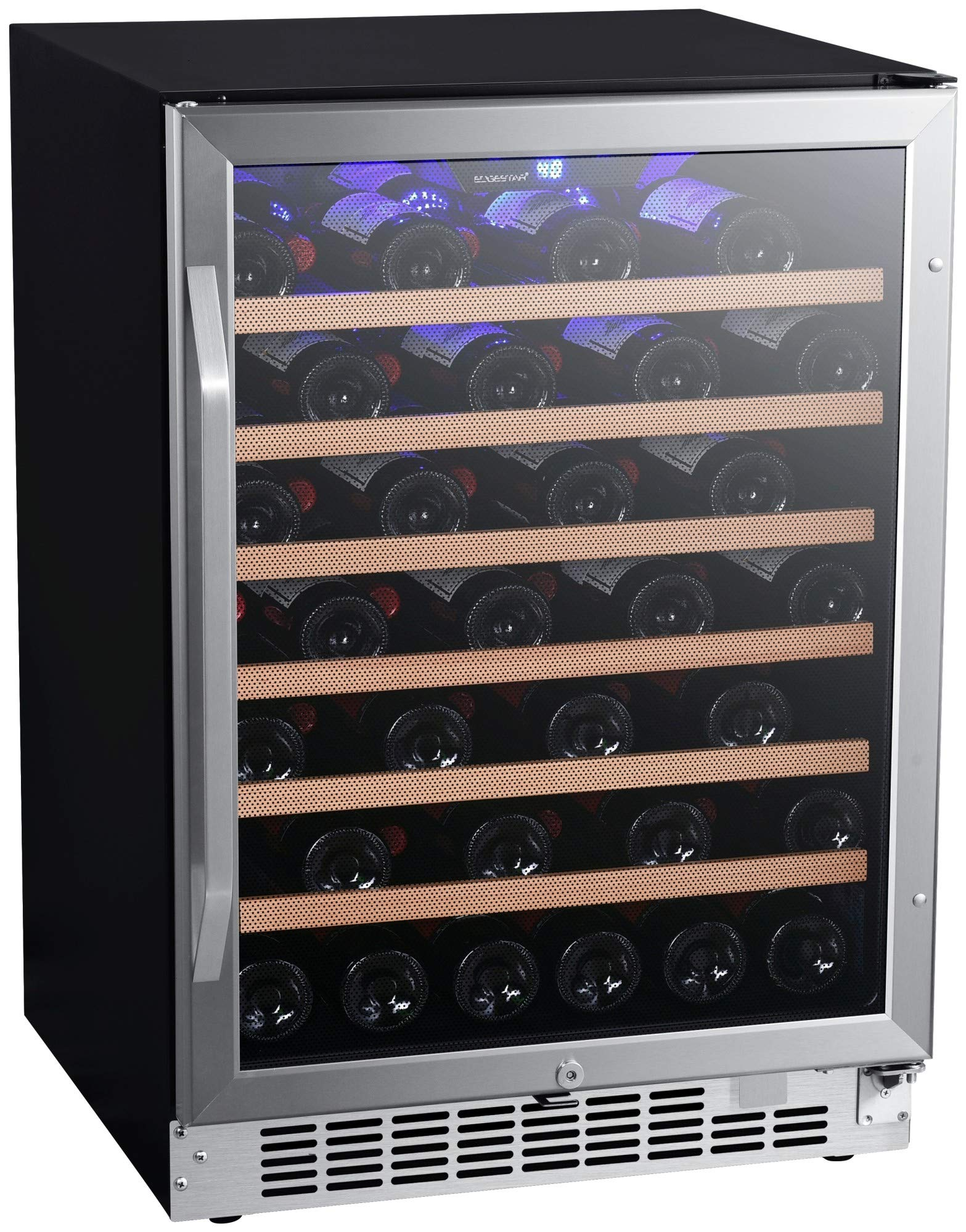 EdgeStar CWR532SZ 24 Inch Wide 53 Bottle Built-In Wine Cooler by EdgeStar