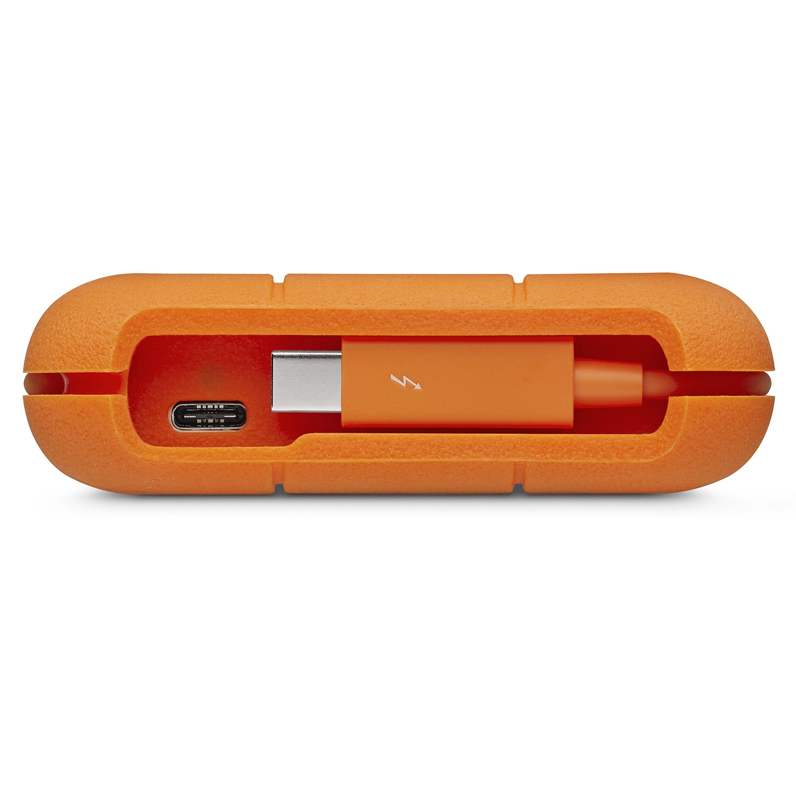 LaCie Rugged 2TB Thunderbolt USB-C Portable Hard Drive (STFS2000800) (Renewed) by LaCie (Image #5)