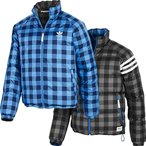 Adidas Originals Hombre OT Down Reversible 2 en 1 Chaqueta de Invierno P28168, Hombre,