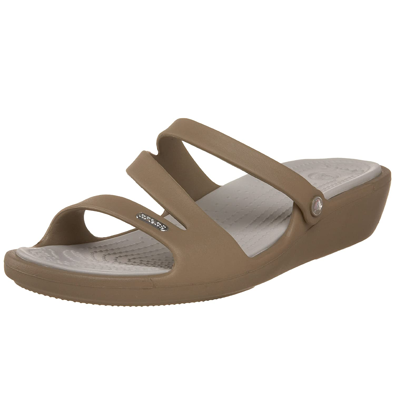 3dde0e9cf02f95 Crocs Women s Patricia Wedge Sandal  Amazon.co.uk  Shoes   Bags