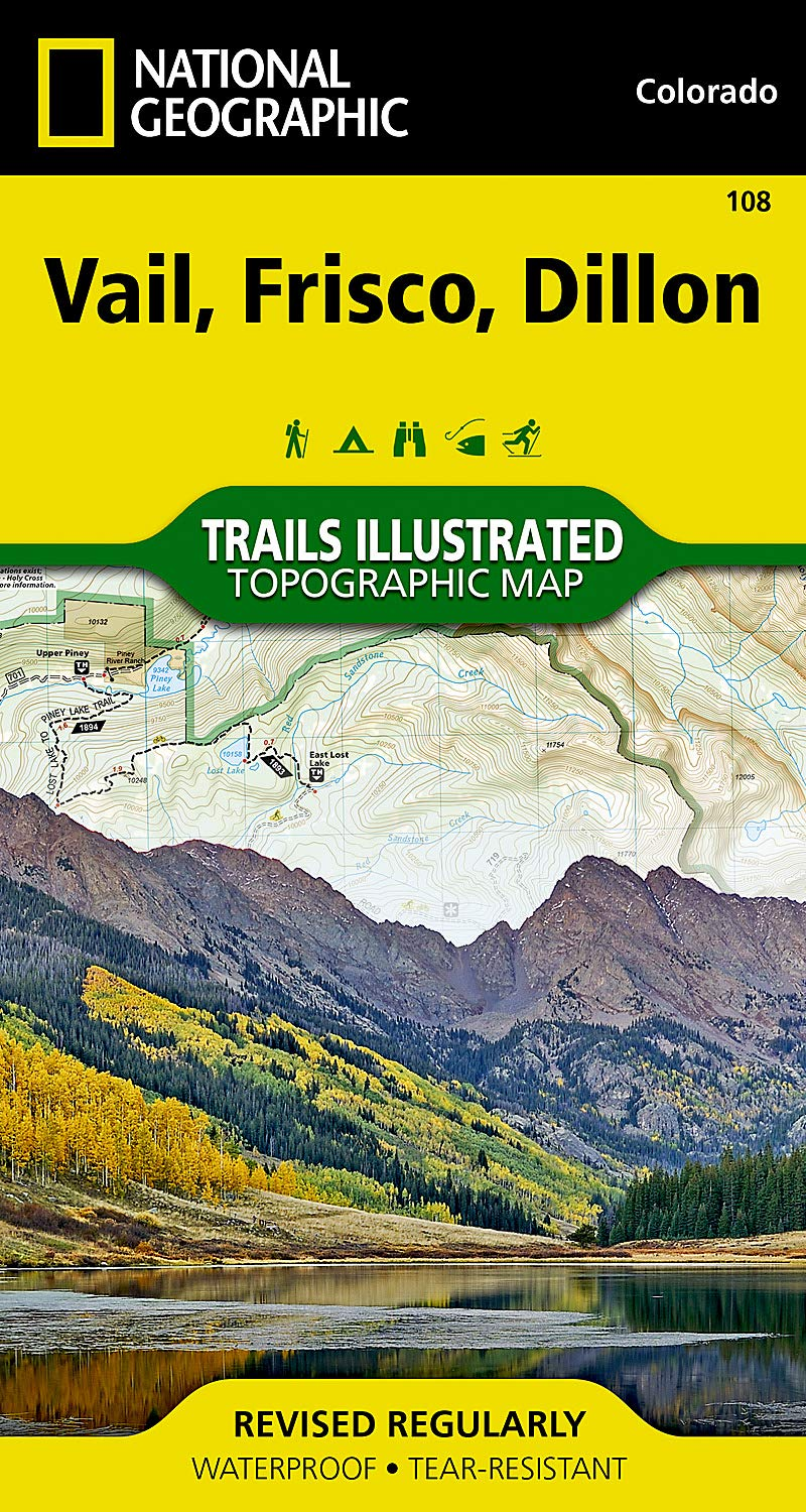 Vail, Frisco, Dillon (National Geographic Trails Illustrated Map) pdf