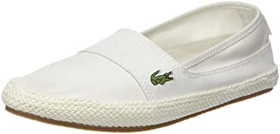 Marques Chaussure femme Lacoste femme MARICE 218 1 OFF WHT/PNK