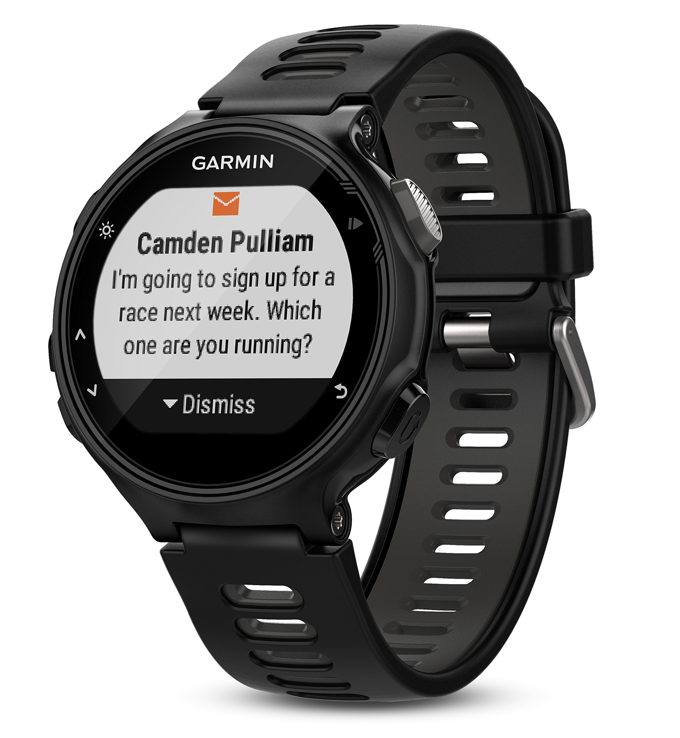 Garmin Forerunner 735XT (Black/Gray, Run-Bundle) Power Bundle   Includes HRM-Run Chest Strap, HD Glass Screen Protectors (x2) & PlayBetter Portable Charger   Multisport GPS Running Watch by PlayBetter (Image #9)