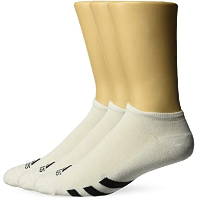.com : adidas Golf Men's 3-Pack No Show Sock : Clothing