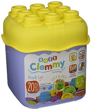 De 20 Age Clementoni Premier Clemmy Jouet Cubes Baby Aléatoire Pièces Modèle nw80kOP