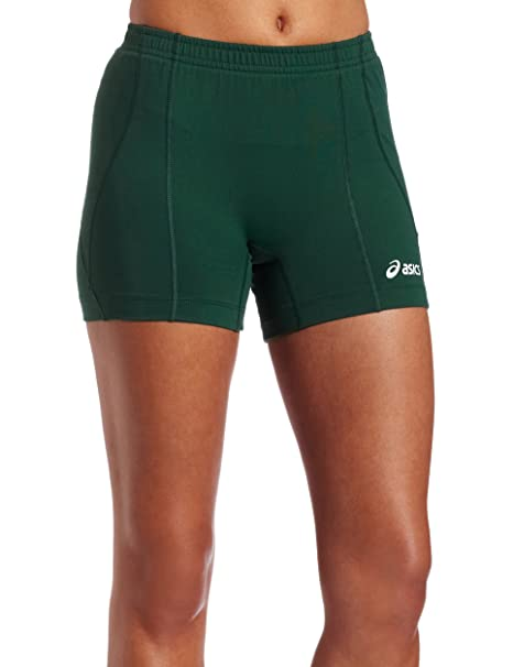 ASICS Short de Volleyball féminin Baseline, Large, Forest
