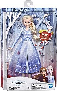 Amazon.es: Disney Frozen - Muñeca de Elsa Cantante con música con ...