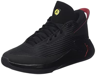 aadd212e15f1 Jordan Nike Men s Fly Lockdown Black Varsity Red Dandelion Basketball Shoe  11.5 Men US