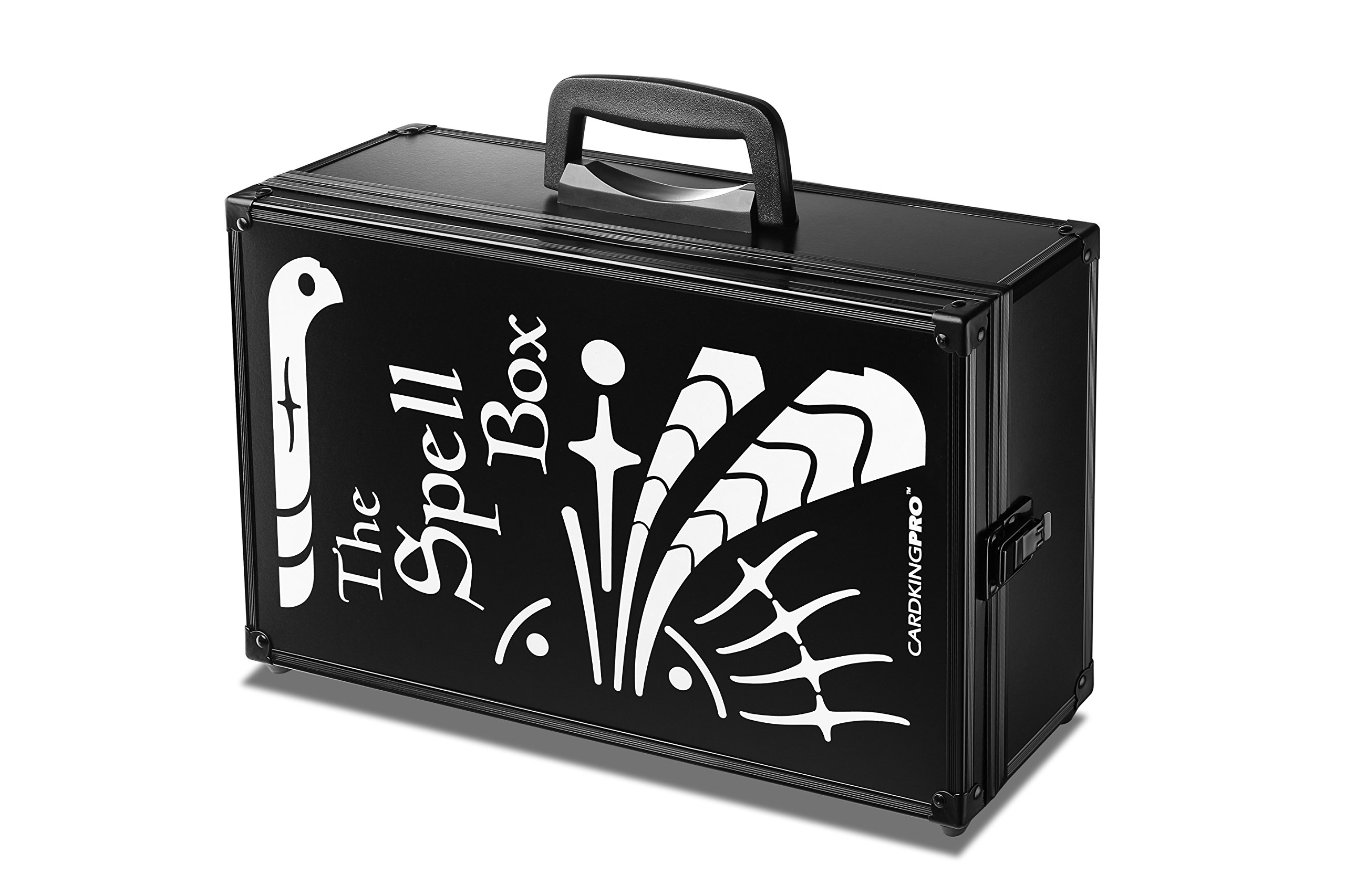 Game Card Storage Case (BBB/MTG Edition)   Suitable for Magic The Gathering, Yugioh, and Other TCG Etc (Game Not Included)   Includes 8 Dividers   Fits up to 2500 Loose Unsleeved Cards