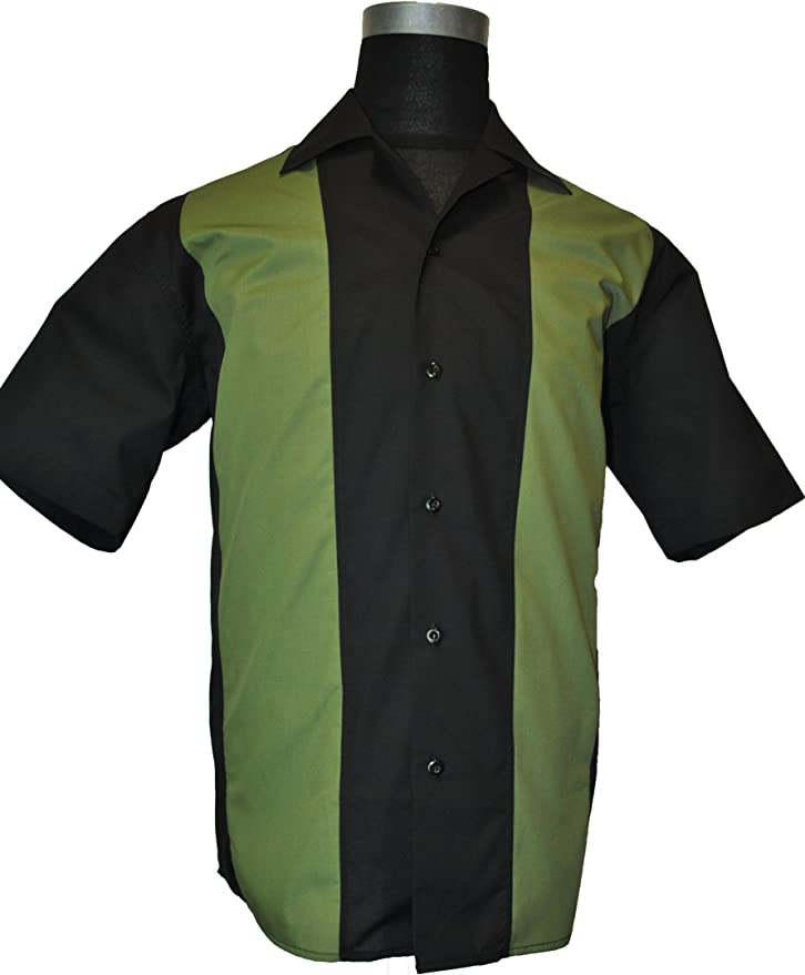 IX³ Bowling camisa Winner Green en Charlie Sheen Style, hombre, large: Amazon.es: Deportes y aire libre