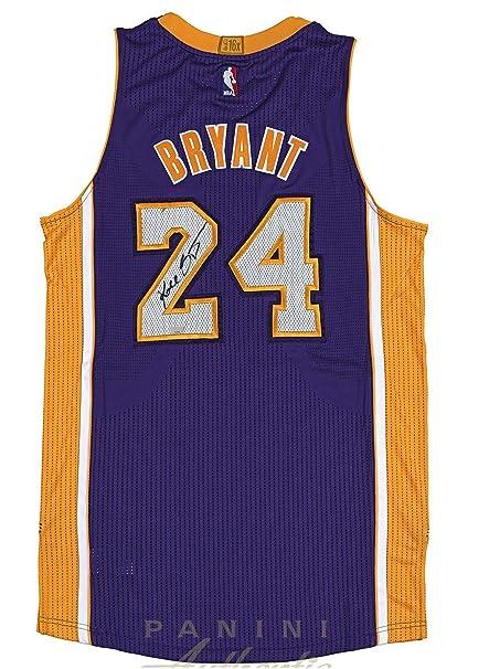 premium selection 18055 8903c Kobe Bryant Hand Signed Autographed Authentic Purple Jersey ...