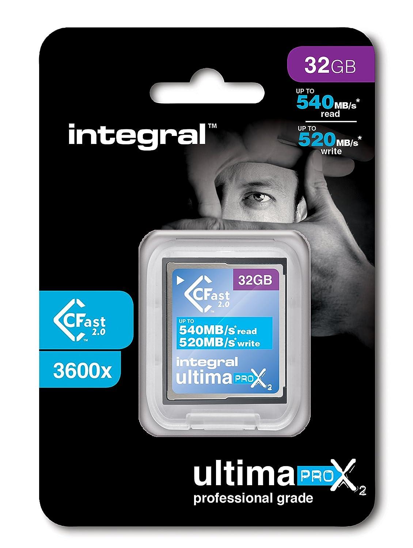 Tarjeta de memoria integral UltimaPro X2 64 GB CFast 2,0