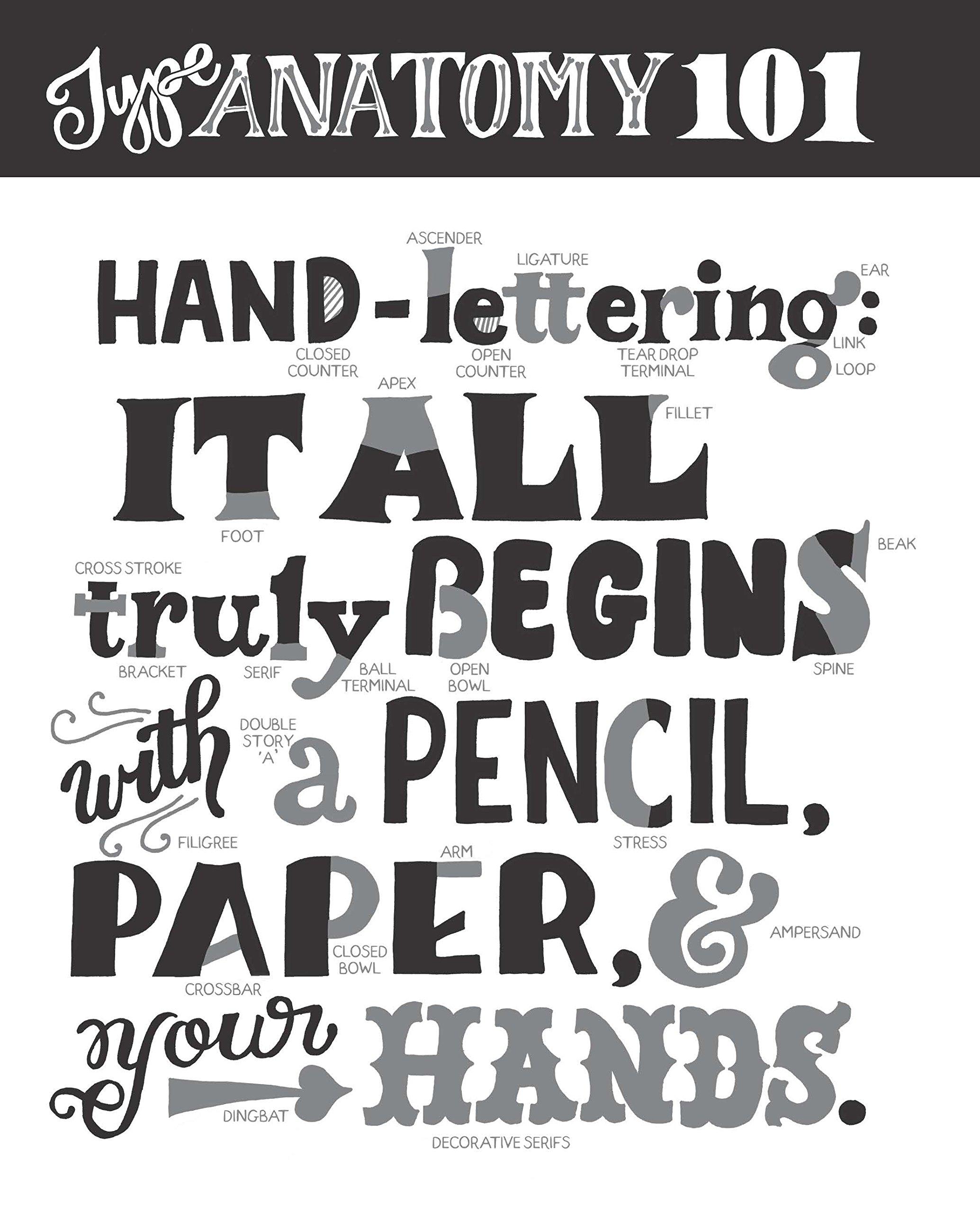 Hand Lettering For Everyone A Creative Workbook Cristina Vanko 9780399173011 Amazon Books