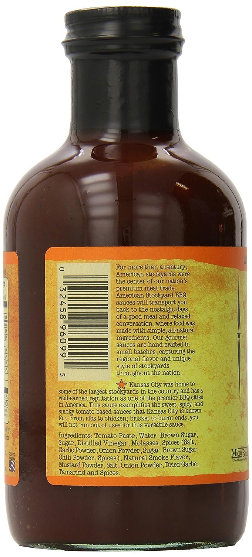 Salsa BBQ American Stockyard KC Smoky Sweet (Dulce ahumado) - 638g (22.5 oz): Amazon.es: Alimentación y bebidas
