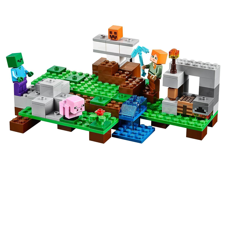 Recopilación de todos los sets de Lego Minecraft