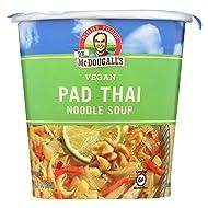 Dr McDougalls Right Foods Pad Thai Noodle Big Cup Soup, 2 Ounce - 6 per case.