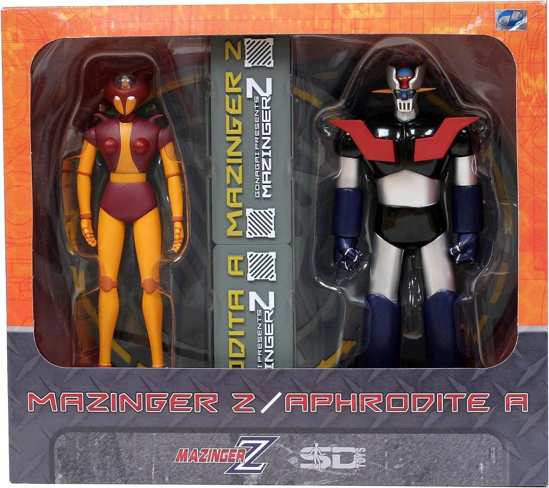 SDT89352 - SDT89352 - Pack Figuras Mazinger Z & Afrodita 18cm: Amazon.es: Juguetes y juegos