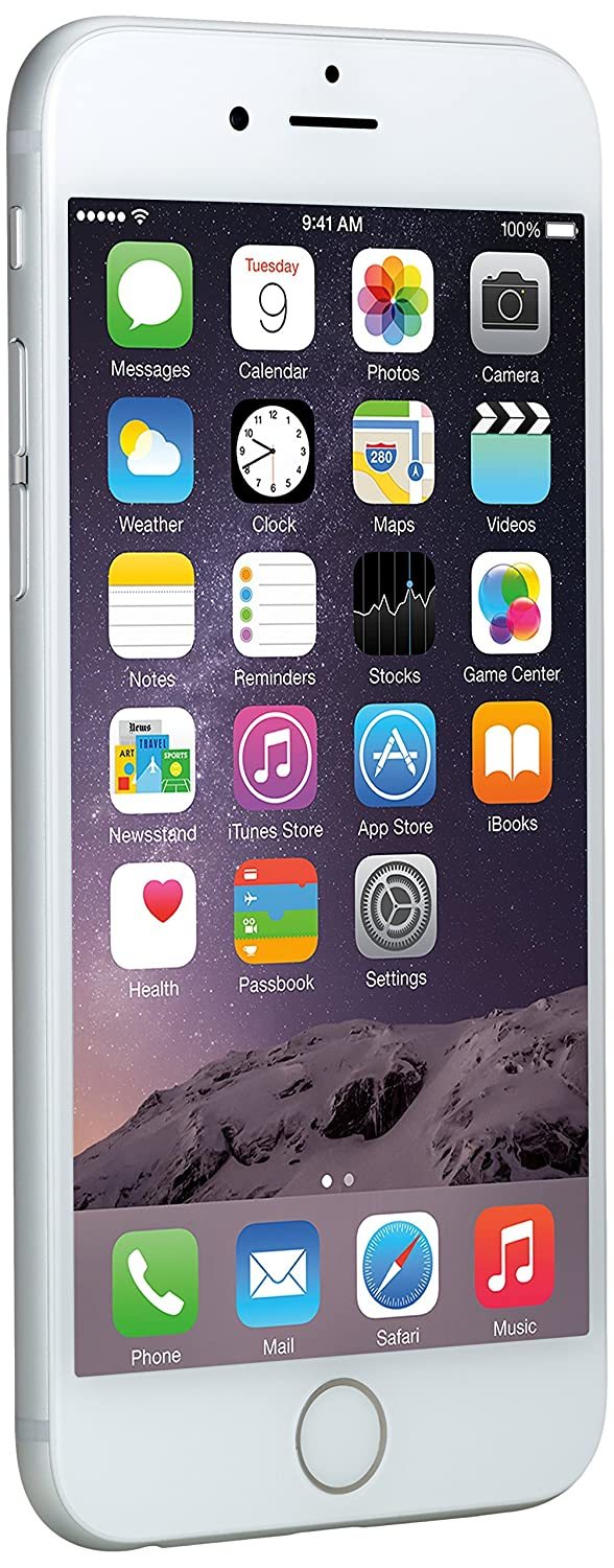 TALLA 16GB. Apple iPhone 6 Plata 16GB Smartphone Libre (Reacondicionado)