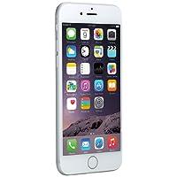 Apple iPhone 6 Plata 16GB Smartphone Libre (Reacondicionado Certificado)