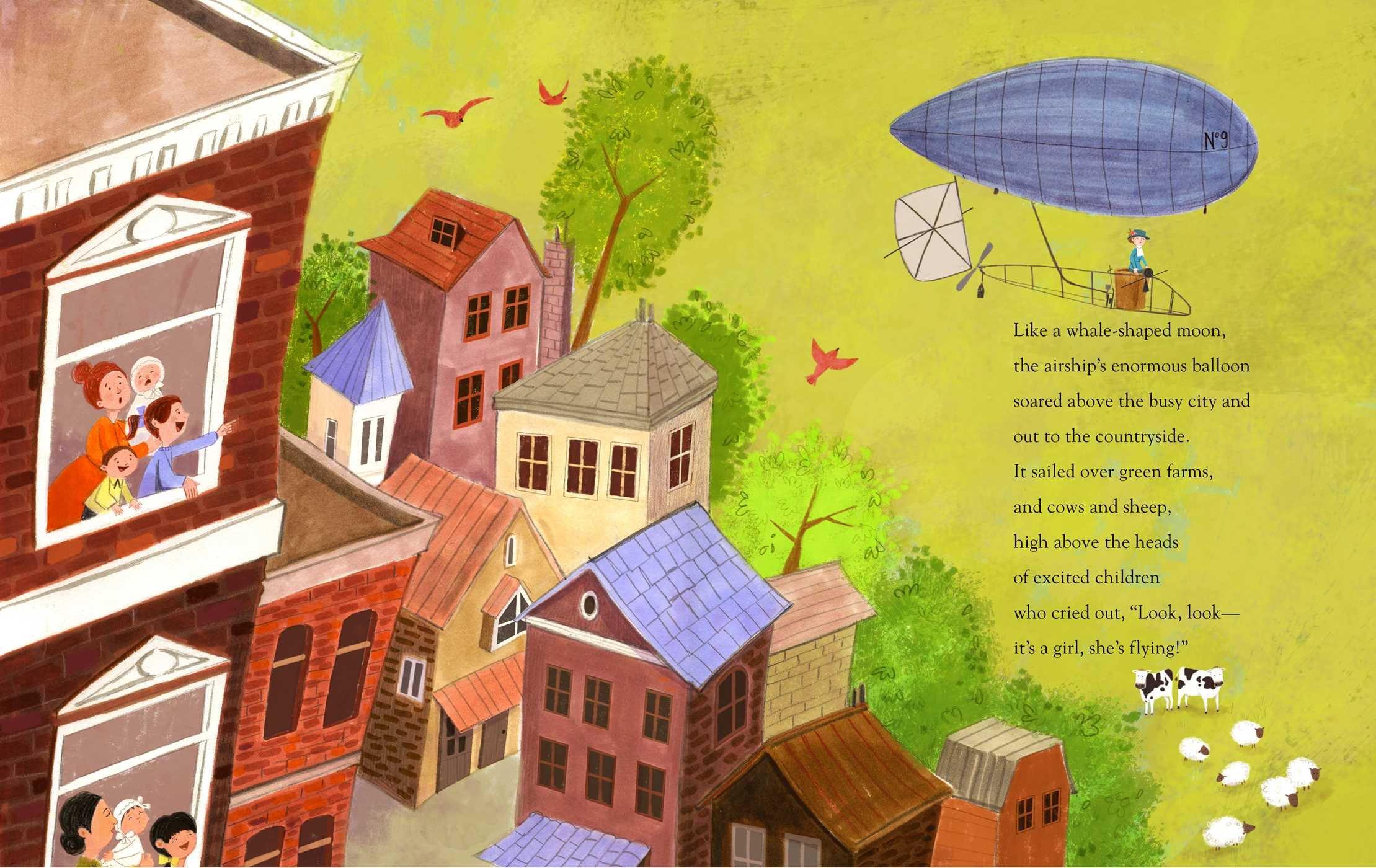 Image result for the flying girl margarita