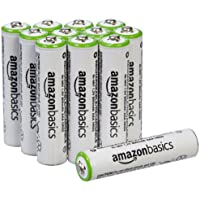 12-Pack AmazonBasics AAA Rechargeable Batteries Pre-charged