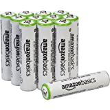 AmazonBasics 亚马逊倍思 AAA型(7号) 镍氢预充电 可充电电池 (12节,800mAh)