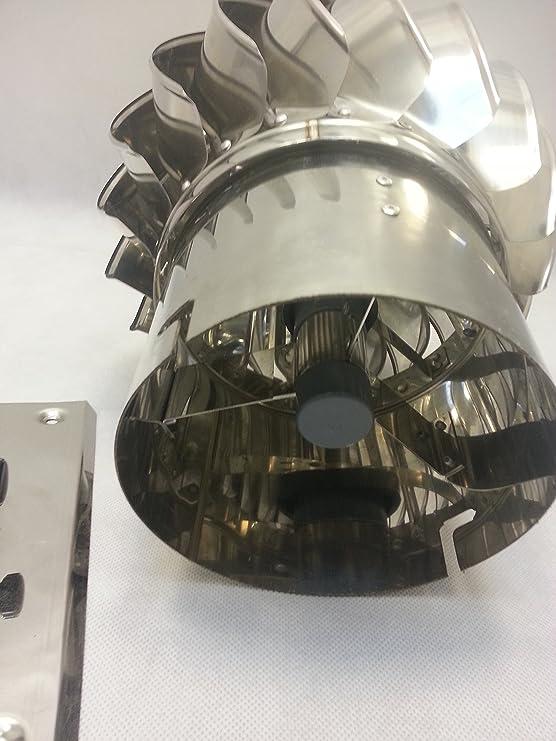 LTLGHY Schornsteinaufsatz Kaminaufsatz S/äurebest/ändiger Edelstahl L/üftung Drehbarer Kugelaufsatz L/üftungsaufsatz Ofen Kamin Turbo L/üftung,400mm
