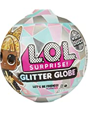 L.O.L. Surprise! 561613 L.O.L. Surprise Globe Doll Winter Disco Series with Glitter Hair, Multi