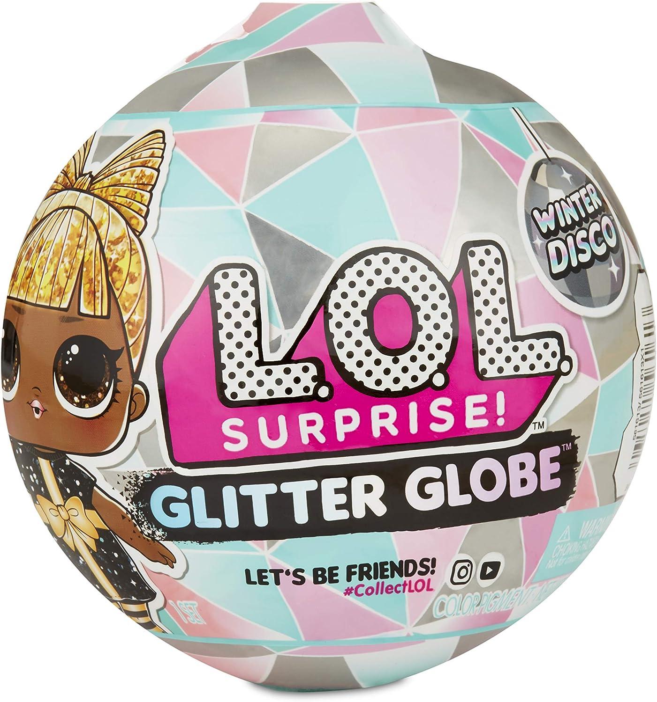 L O L  Surprise  Glitter Globe Doll Winter Disco Series with Glitter Hair