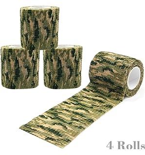 Amazon.com : Uning Self-adhesive Protective Camouflage Tape Wrap ...