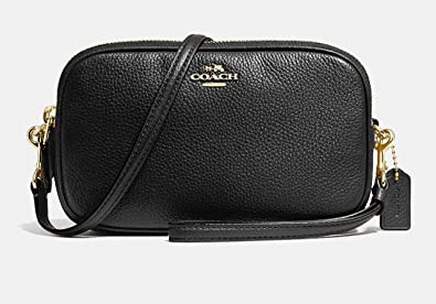 speical offer discount for sale shop for genuine COACH Women's Pebbled Crossbody Clutch