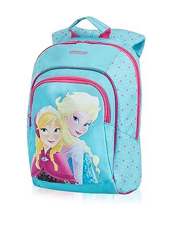 Disney New Wonder S+ Jr. Frozen Mochila Infantil, 11 litros, Color Azul: Amazon.es: Equipaje