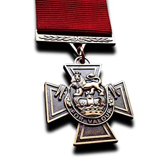 Military Medal Victoria Cross The Highest Military Decoration For Valour New Rare Copy FreeCrows Ltd.
