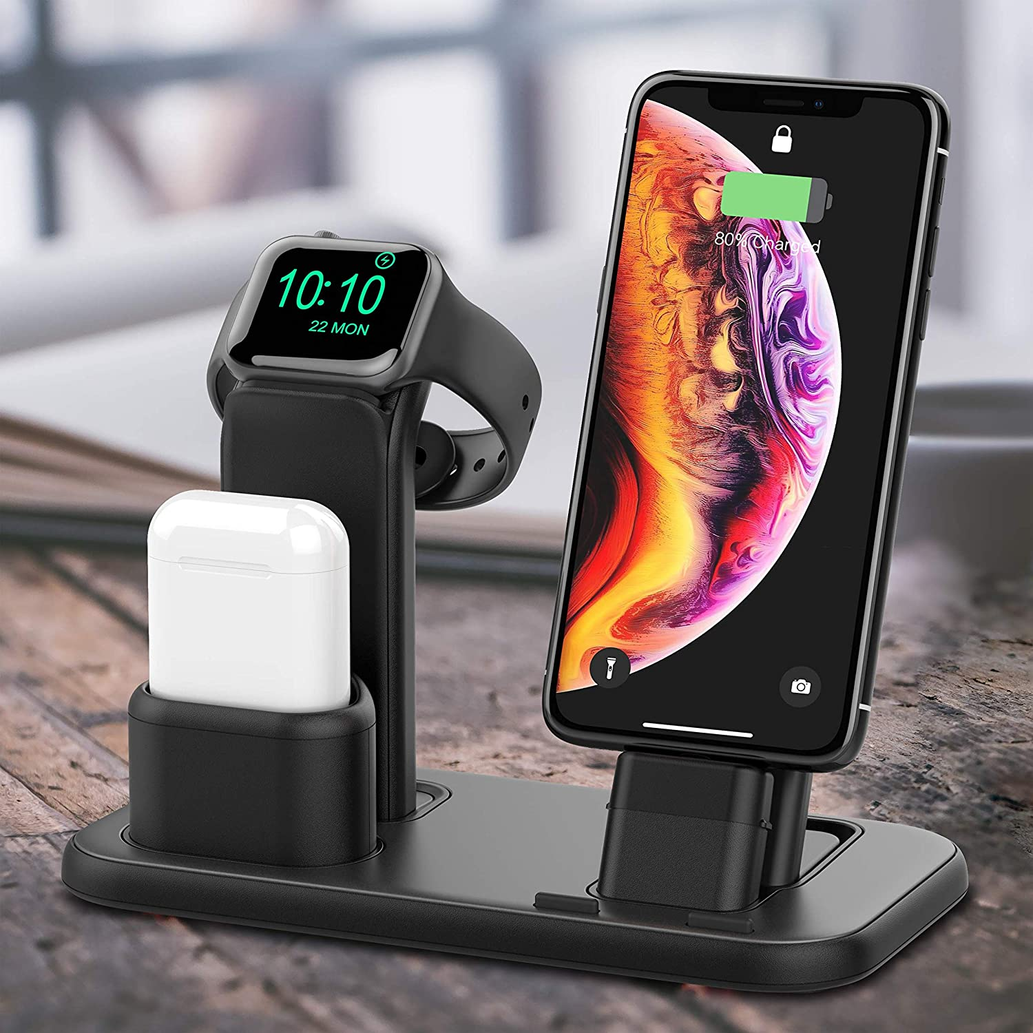 BEACOO Upgraded 3 in 1 Charging Stand $16.99 Coupon