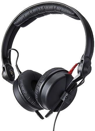 Sennheiser HD 25 Black Supraaural Headphone – Auriculares (Supraaural, Wired, 16 – 220000páginas Hz, 120 Db, 1.5 m, Black)