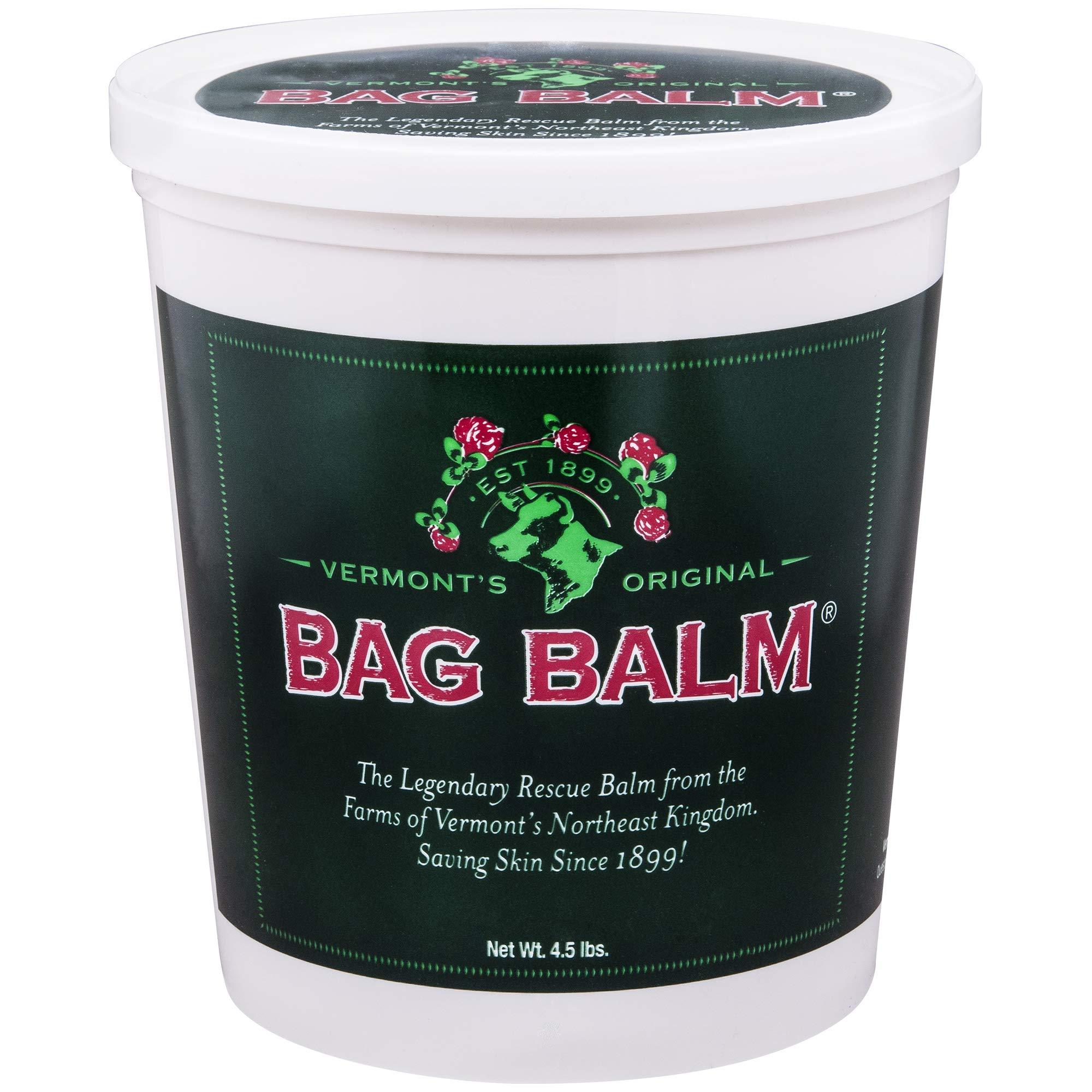 Vermont's Original Bag Balm Ointment 4.5lb Pail by Dairy Association